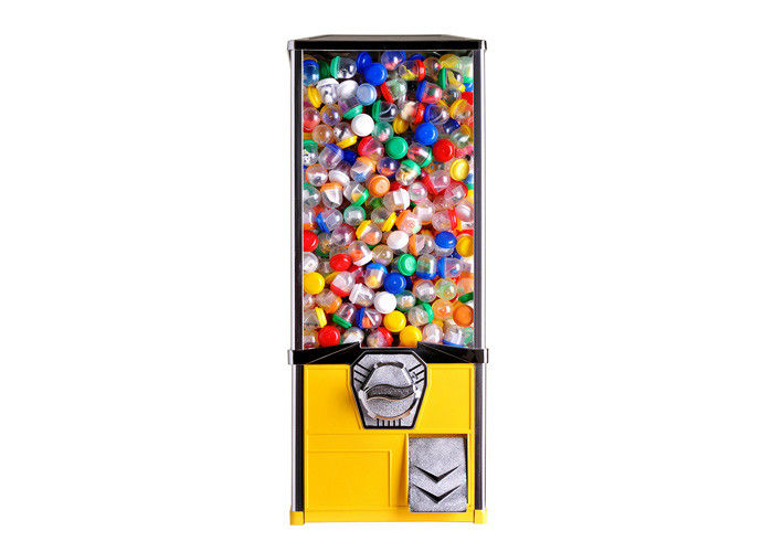 Lid Capsule Vending Machine 29*20*50CM Metal Die Casting Plating Processing