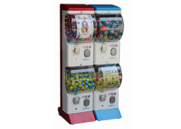 High Durability Tomy Gacha Vending Machine 35*45*147CM With 2 Wheels